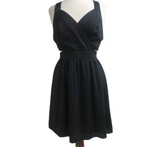 BCBGeneration black dress with cutouts 12